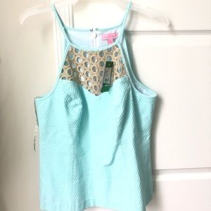 Lilly Pulitzer Tops - BRAND NEW WITH TAGS LILLY PULITZER LARINA TOP Sz8